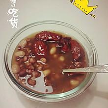 红豆薏米花生汤