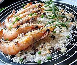 万味之源,盐之有味--【盐焗虾】的做法