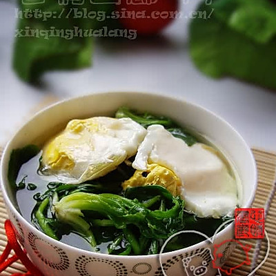 荠菜煮鸡蛋