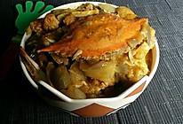 【蔓德拉的厨房】南洋风焗咸呛蟹的做法