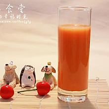 果蔬汁系列之胡萝卜苹果汁