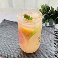 #美食视频挑战赛#清凉夏日红柚青柠特饮