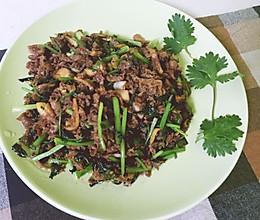 香菜炒牛肉(随性家常版)的做法