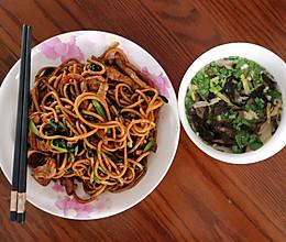 老上海炒面的做法