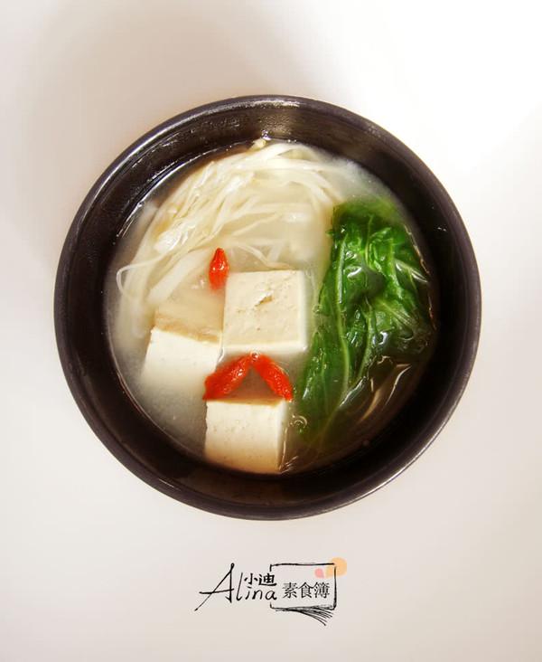 鲜香原味:豆腐青菜汤的做法