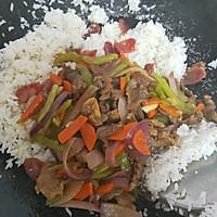 炒牛肉饭的做法图解5