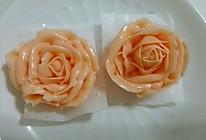 奶油霜玫瑰花的做法
