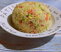 日常炒米饭的做法