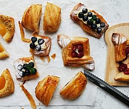 4款口味的丹麦面包【不藏私】的做法