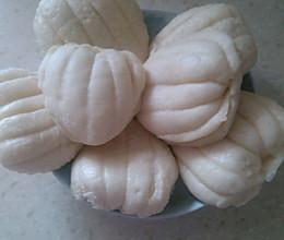 【美味面食】花样馒头~扇贝饼夹的做法