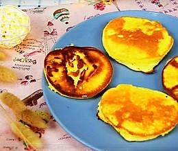 松软细腻玉米松饼 宝宝辅食,云朵般的柔软的做法