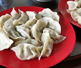 槐花韭菜馅饺子的做法