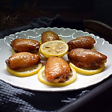 #我们约饭吧#柠檬烤鸡翅