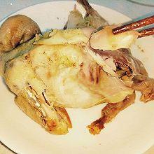 电饭煲蒸鸡