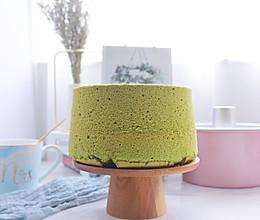 7寸中空日式抹茶戚风蛋糕的做法