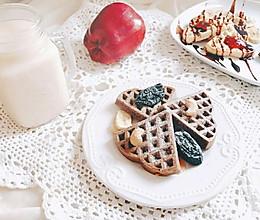 华夫饼-烤箱版 宝宝喜欢的快手早餐和下午茶的做法