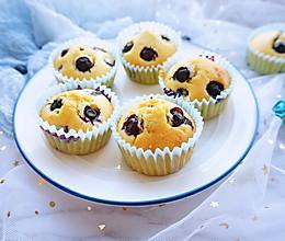 #美味烤箱菜,就等你来做!#爆浆蓝莓麦芬的做法