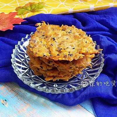 红薯丝煎饼——香甜的快手小零食