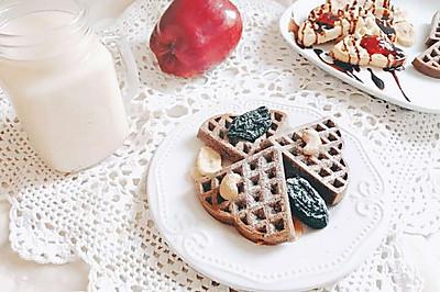 华夫饼-烤箱版 宝宝喜欢的快手早餐和下午茶