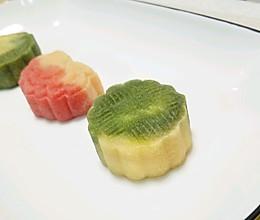 金桔莲蓉桃山翡翠月饼的做法
