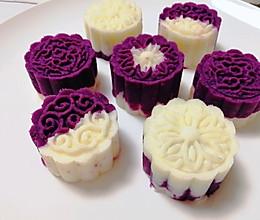 #换着花样吃早餐#山药紫薯泥,超简单超好吃的做法