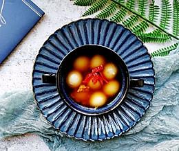 #一道菜表白豆果美食#补血佳品~红糖醪糟汤圆的做法