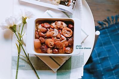 红花豆煲猪尾