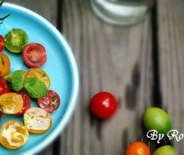 海盐小番茄沙拉的做法