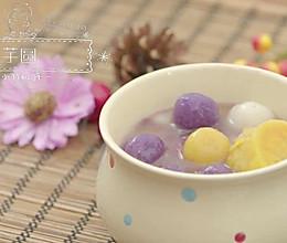 台湾芋圆,甜品界的好好小姐   没有烤箱也要吃甜品NO.4的做法