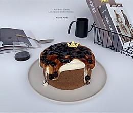 爆浆黑糖珍珠蛋糕的做法