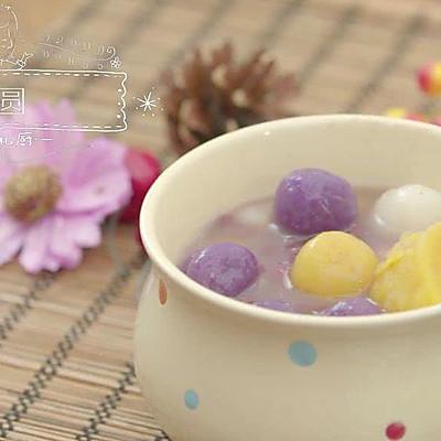 台湾芋圆,甜品界的好好小姐   没有烤箱也要吃甜品NO.4