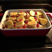 #换着花样吃早餐#零难度甜品~香蕉吐司布丁的做法图解8
