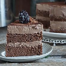 夏日巧克力芭菲冰淇淋蛋糕 生日party下午茶首选