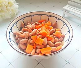 #快手又营养,我家的冬日必备菜品 #胡萝卜拌花生米的做法