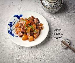 日式琥珀烧:牛腩烧白萝卜的做法