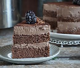 夏日巧克力芭菲冰淇淋蛋糕 生日party下午茶首选的做法