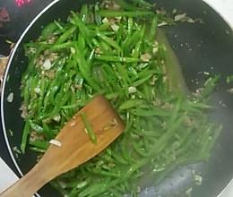 炒扁豆角的做法