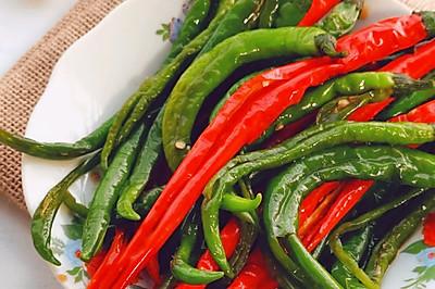 不加一滴水的腌辣椒❗香辣鲜香吃一次就上瘾