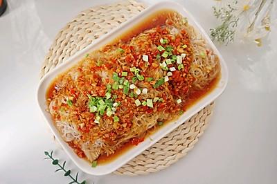下饭菜蒜蓉粉丝金针菇❗️鲜辣开胃又解腻