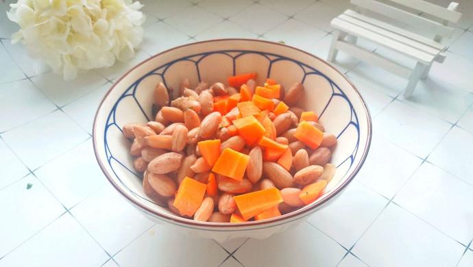 胡萝卜拌花生米