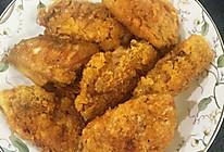 面包糠炸鸡翅的做法