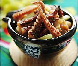 干煸鱿鱼----咸鲜香酥飘万里的做法