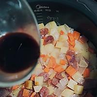 土豆腊肠焖饭的做法图解11