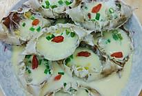 蟹壳蒸蛋的做法