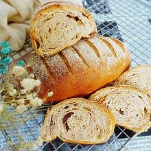 果仁法式乡村面包#有颜值的实力派#