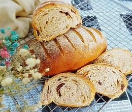 果仁法式乡村面包#有颜值的实力派#的做法