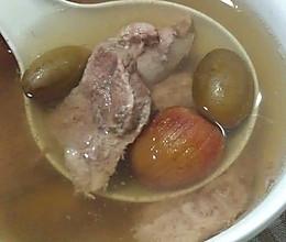 青榄瘦肉炖汤----小丽家常菜的做法