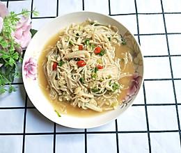 #今天吃什么#酱炒金针菇的做法
