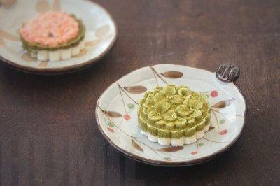 斑斓栗子蒸米糕