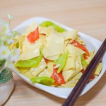 东北菜《尖椒干豆腐》